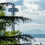 The Space Needle from your private deck.